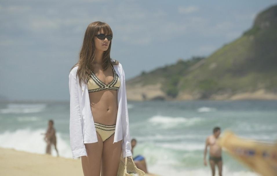 """14.fev.2017 - Sophie Charlotte está no elenco da próxima série da Globo, que tem o título provisório de """"Os Dias Eram Assim"""""""