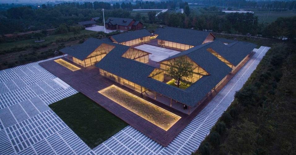 6.mar.2017 - A fazenda de orgânicos de Tangshang, na China, venceu a categoria Industrial no concurso promovido pelo site