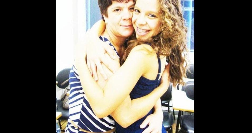 """Leticia homenageando sua mãe Rosa: """"A mãe mais linda e maravilhosa do mundo, amo mais que tudo!"""""""