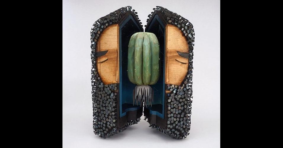 13. Jaime Molina também é pintor e muralista