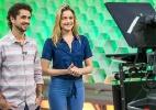 Fernanda Gentil e Felipe Andreoli apresentam o Esporte Espetacular (Reprodução/Globo)