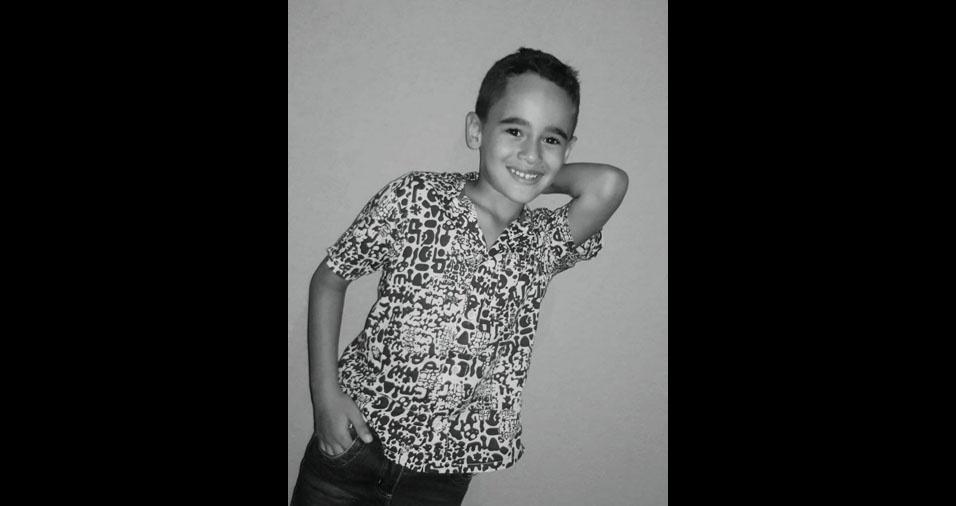 Arthur é o filhinho da Flaviane Soares Santos Oliveira e do Rafael Oliveira, de Pará de Minas (MG)