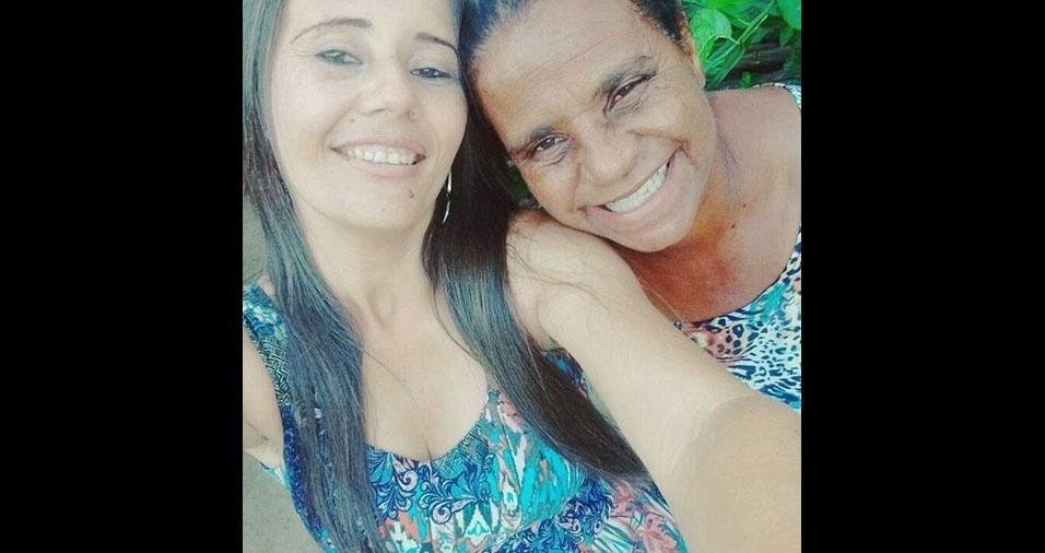 Neide Mori, de Brasília (DF), é filha da dona Zilda Maria de Jesus, de Condeúba (BA)