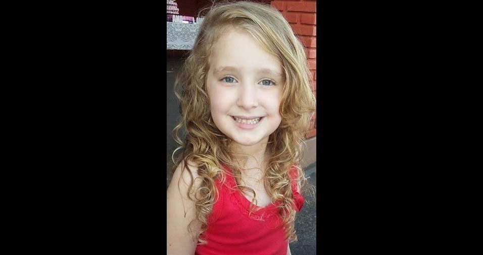 Suzana Cristina, de Porto Ferreira (SP), enviou foto da filha Mariana, de seis anos
