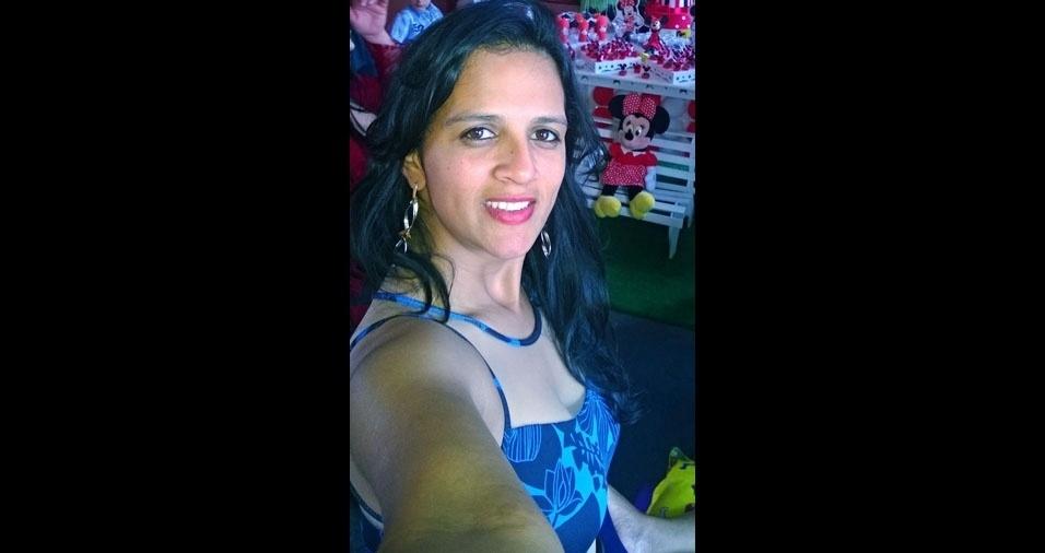 Léia Tavares, 34 anos, de Itu (SP)