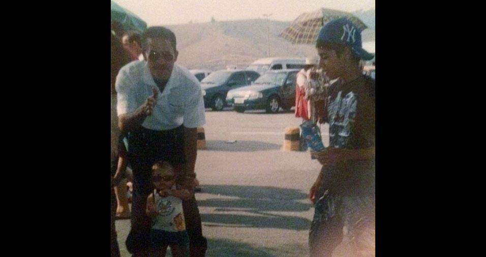 Igor Finos lembra viagem ao Chile feita com o pai Antonio Finos e o irmão, em março de 1996