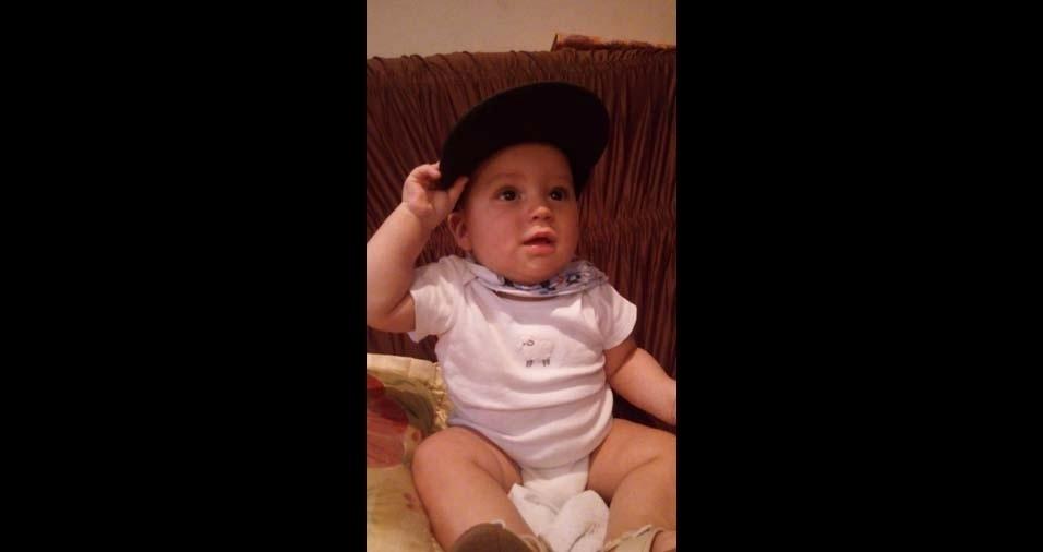 Daniella, de São Paulo (SP), enviou a foto do filho Diego