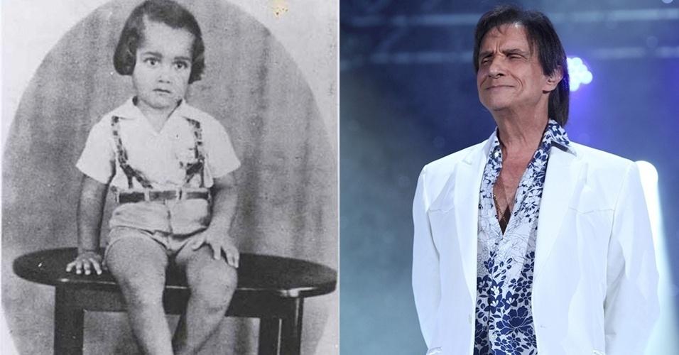27.jul.2015 - Olha só o rei Roberto Carlos! Muito diferente?