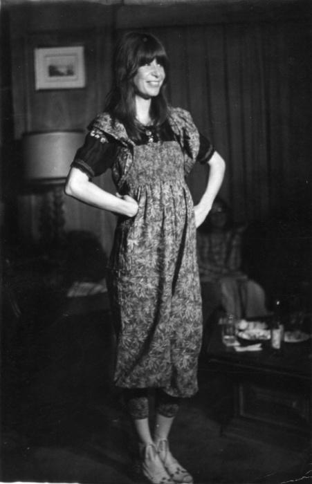 Out.1976 - Rita Lee posa para sessão de fotos em São Paulo