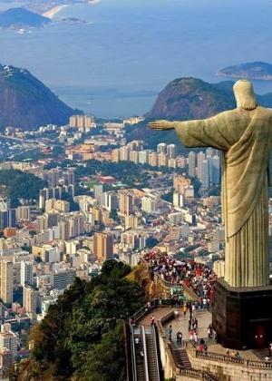 Cristo Redentor encanta turistas no Rio de Janeiro - Reprodução/YouTube