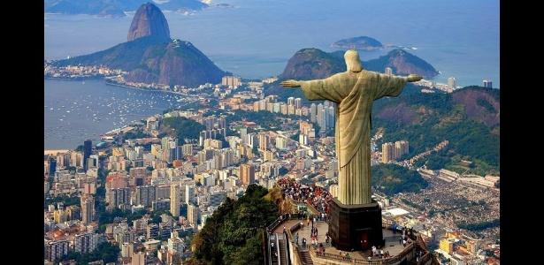 Cristo Redentor, no Rio de Janeiro