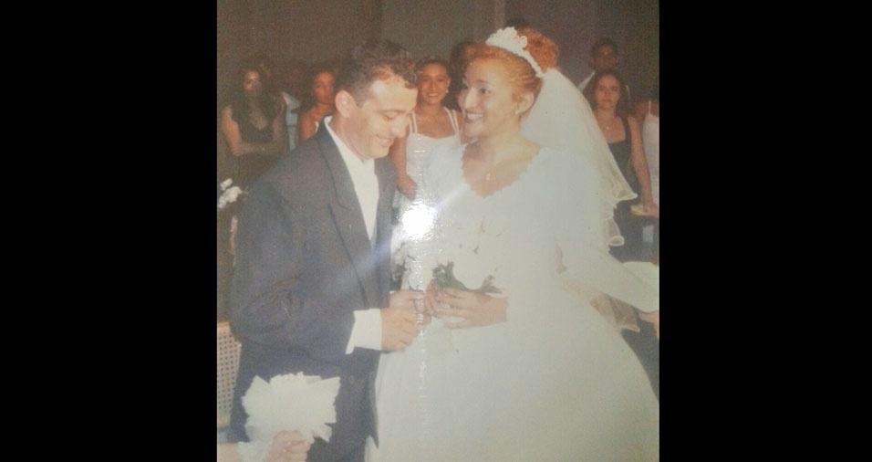 Rômulo Reis e Waléria Reis, de Fortaleza (CE), se casaram em 22 de dezembro de 2000
