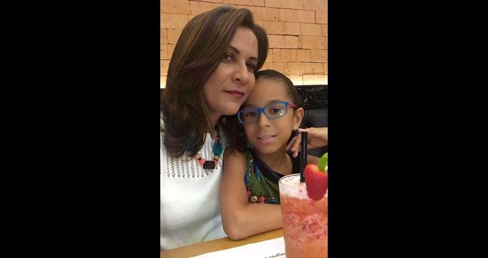 Sophia Helena Magalhães Atis é filha da Mari, de Aracaju (SE)