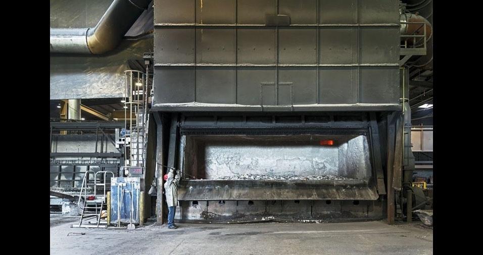 17. Derretimento de alumínio