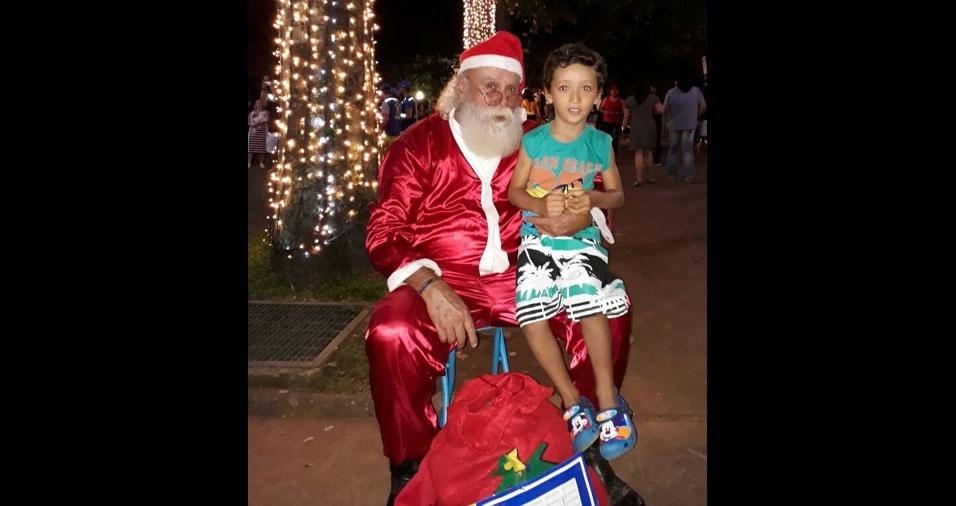 Christiane Vieira Tavares, de Belo Horizonte (MG), enviou foto do filho Carlos William