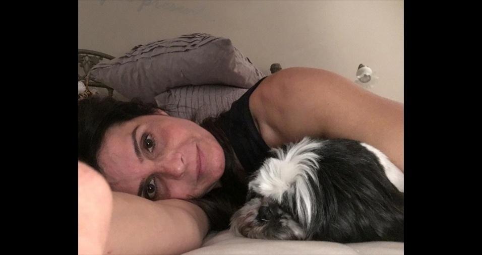 Giuliana Lancellotti, 46 anos, mãe de Giovanna Lancellotti