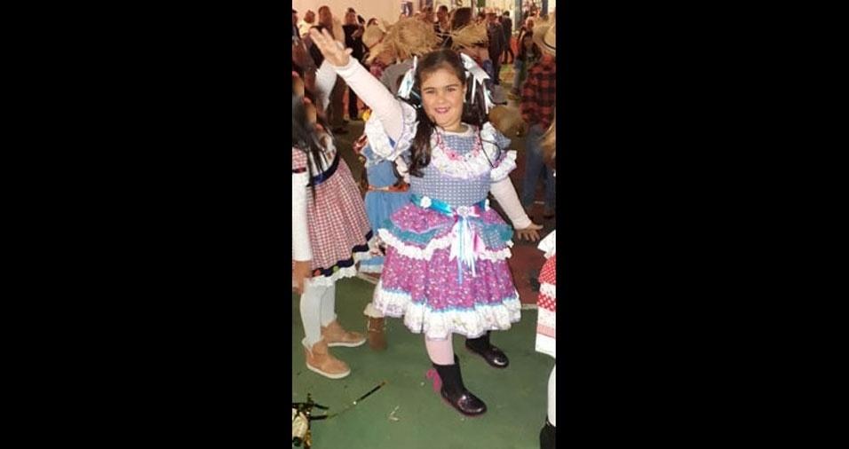Aline Colosimo é a mamãe da Júlia, de Cruzeiro (SP)