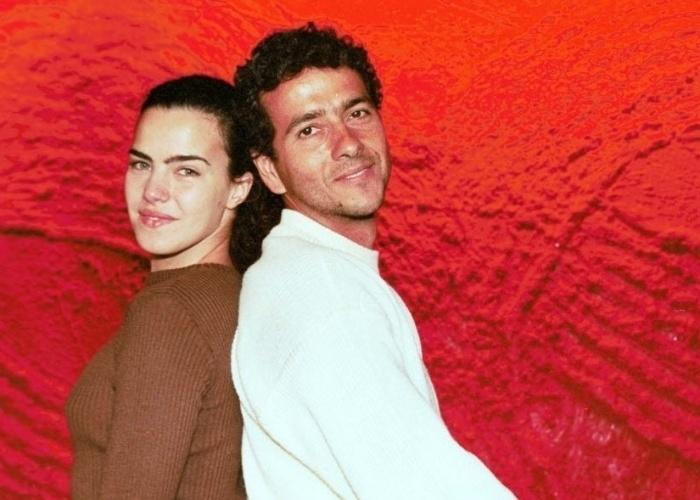Ana Paula Arósio e Marcos Palmeira