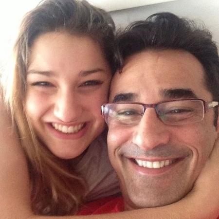 Sasha Meneghel e o pai, Luciano Szafir - Reprodução/Instagram