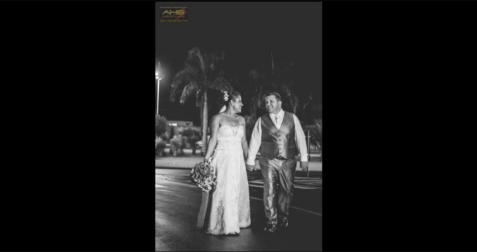 Márcio Ricardo e Ana Paula casaram-se no dia 28 de novembro de 2015, em Limeira (SP)