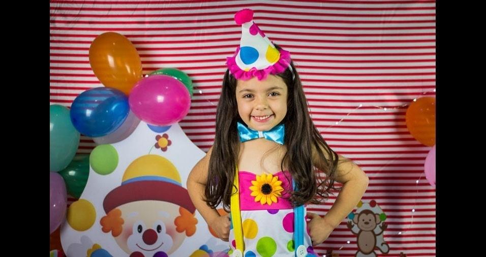 De Mogi das Cruzes (SP), a Juliana Firmino enviou foto da filha Sophia