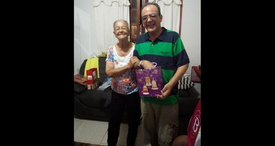 ???Henrique Novo com a mãe Elizabeth, do  Rio de Janeiro (RJ)