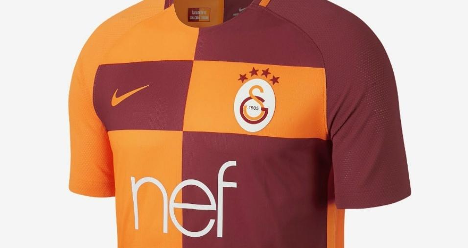 15. Galatasaray - Os turcos escolheram um estilo inovador para a próxima temporada