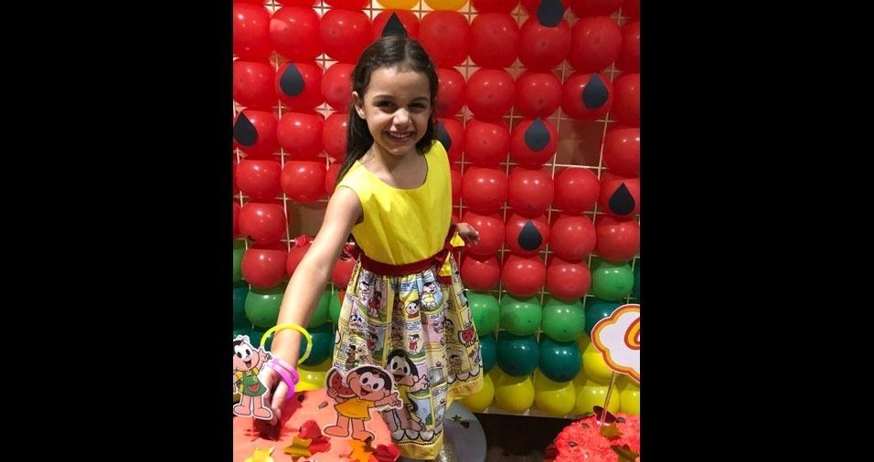 Clarice dos Santos Leite, cinco anos, é filha da Andressa Santos, de Brasília (DF)