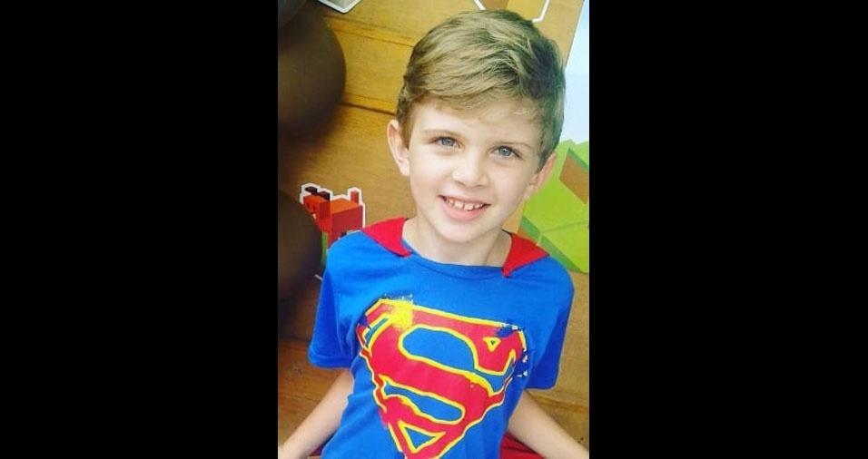 Dayane Falkiewicz, de Vilhena (RO), enviou foto de seu super herói preferido, o filho Lucas Ariel