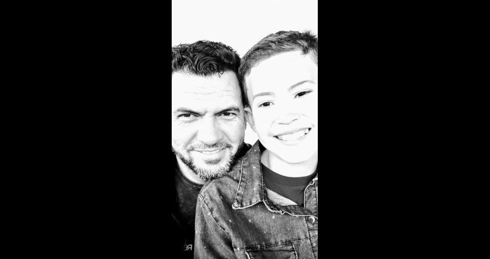 O Arthur vai completar 11 anos no Dia das Crianças. A foto foi enviada pelo pai, Célio Roberto Amaral
