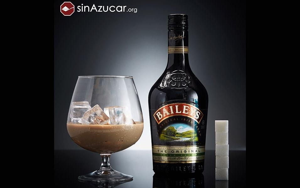 100 ml do licor Baileys tem 20 g de açúcar