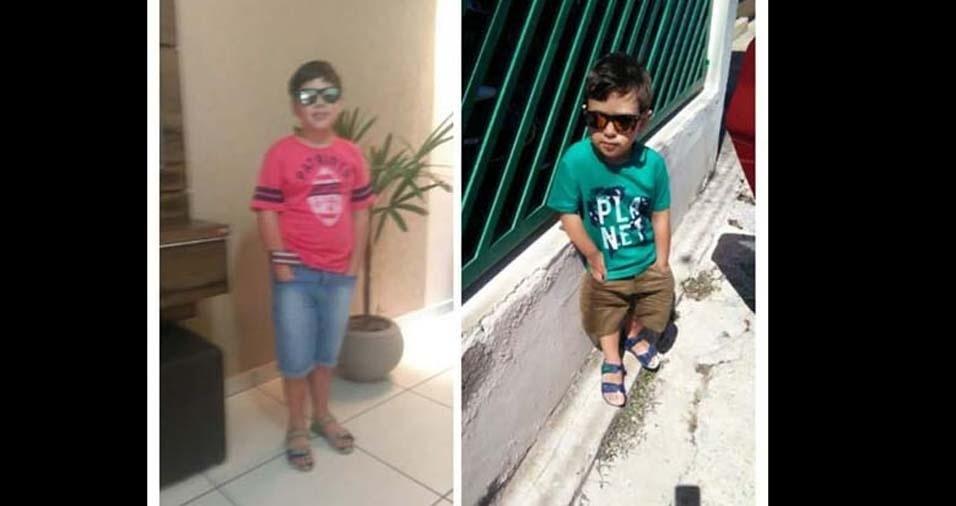 Giuliano e Glauciene enviaram foto dos filhos João Pedro e Joaquim, de Votorantim (SP)