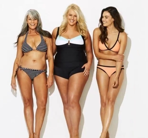 """9.dez.2015 - De acordo com a rede de lojas, o objetivo da campanha é """"mostrar uma representação mais abrangente de corpos de mulheres reais usando uma variedade de formas e tamanhos de corpos para modelar as peças"""""""