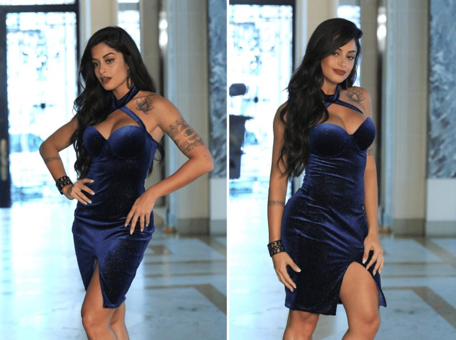 21.dez.2016 - Ensaio de moda foi produzido na sede de São Paulo do Iate Clube de Santos