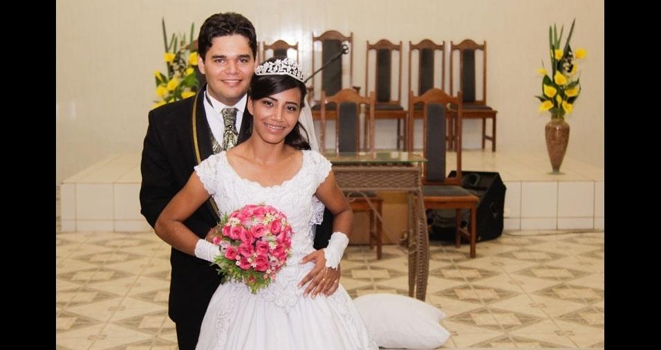 Wemerson e Renata se casaram em 3 de dezembro de 2016, em Vitoria de Santo Antão (PE)