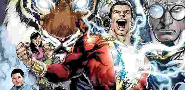 O personagem Shazam nos quadrinhos - Reprodução/DC Comics