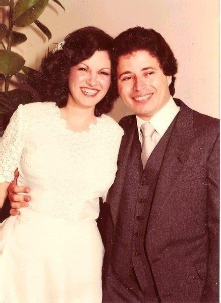 Janice Maria e Pedro Paulo se casaram no dia 20 de dezembro de 1980, na Igreja Santíssimo Sacramento e Santa Teresinha, em Porto Alegre (RS)