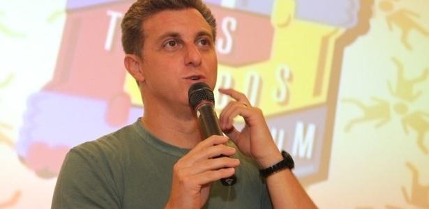 O apresentador de TV e empresário, Luciano Huck