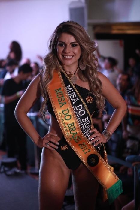 5.nov.2017 - Vanessa Perez, candidata do Mato Grosso do Sul, foi a grande vencedora do concurso Musa do Brasil