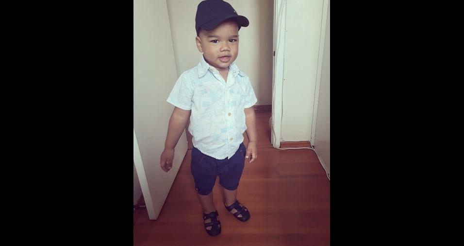 Anthony Vicente é filho da Danielli Cristina Dias Santana, de Guarulhos (SP)