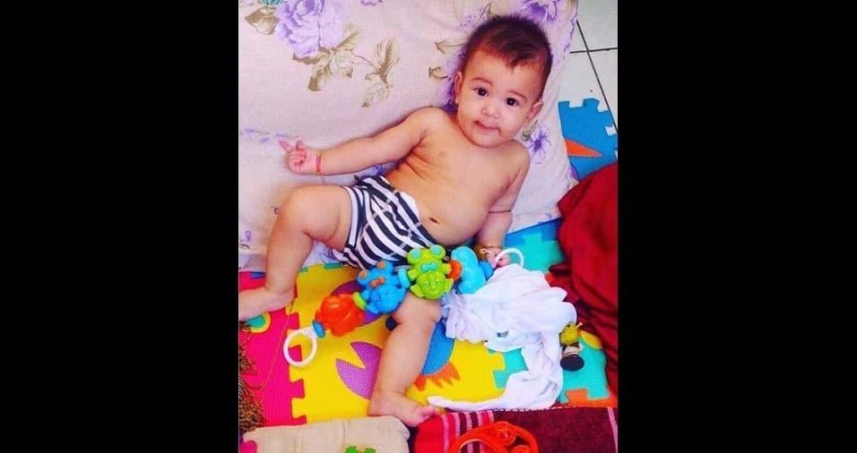 Humberto, de Fortaleza (CE), enviou foto do bebe João Miguel