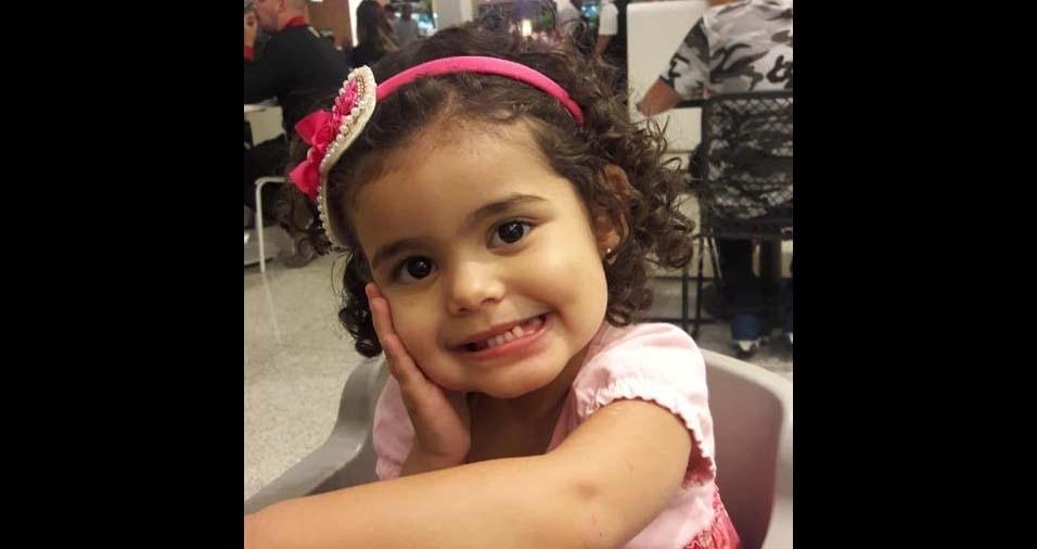 Mariana, de São José do Rio Preto (SP), enviou foto da filha Marina, de dois anos