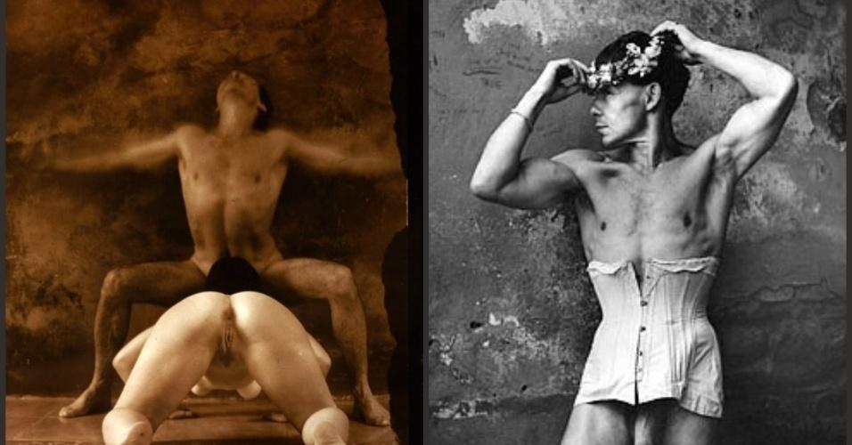 21.set.2015 - Conhecido pelo trabalho provocativo e perturbador, Jan Saudek é um dos artistas tchecos mais reconhecidos