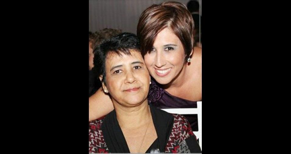 Taciana com a mamãe Leonor, de Catuípe (RS)