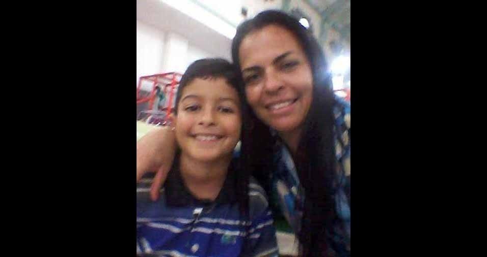 Vovó Luciana com o netinho Luis Filipe, de Matias Barbosa (MG)