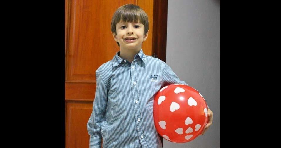 Celso e Káritas enviaram foto do filho Pedro Lucas, de Espírito Santo do Pinhal (SP)