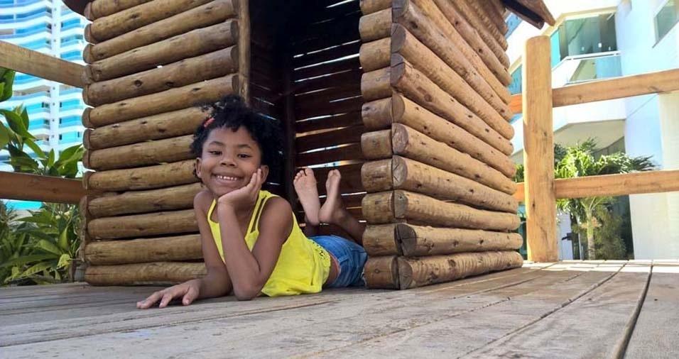 Valter enviou foto da pequena Maria Clara, de Parnamirim (RN)