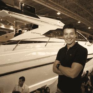 16.out.2015 - Rodrigo Faro adquiriu um iate de 76 pés por cerca de R$ 6,8 milhões - Divulgação