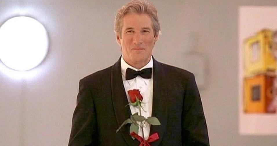 """49. Richard Gere. Outro para a coleção de grisalhos sedutores é o ator de """"Uma Linda Mulher"""" e """"Dança Comigo?"""""""