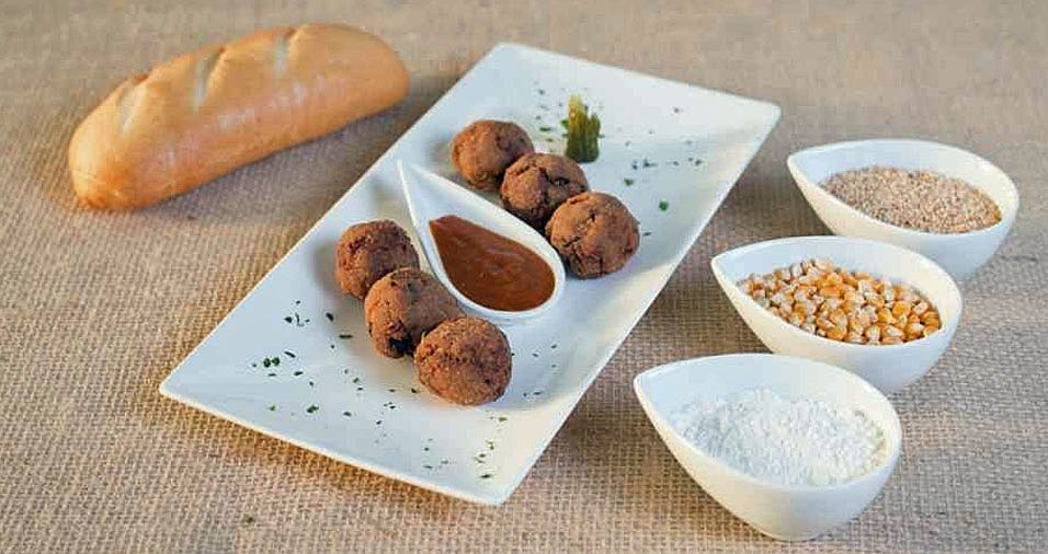 """19. O Buteco Königsallee concorre com o prato """"Curryballs"""", que são bolinhas de carne ao curry. Onde: Rua Ministro Roberto Cardoso Alves, 359 - Santo Amaro. Mais informações: (11) 3791-6333"""